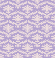damask seamless floral pattern background vector image