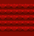 abstract red seamless pattern background vector image vector image