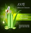 aloe vera serum vector image vector image