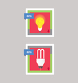 bulb and cfl download vector image vector image