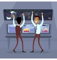 Business Team Work Success Concept vector image vector image