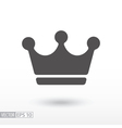Crown - flat icon vector image