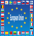 Europe Patriotic Blue Luxembourg Patriot Republic vector image vector image