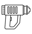 impact drill icon outline style vector image vector image
