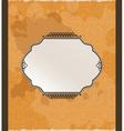 ornamental arabiq background vector image vector image