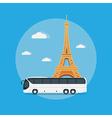 paris travel vector image vector image