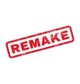Remake Rubber Stamp vector image vector image