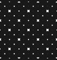 seamless pattern modern minimalist texture small vector image vector image