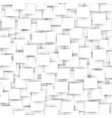 white rectangle seamless abstract pattern vector image vector image