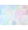 abstract background with multicolor cubes vector image vector image