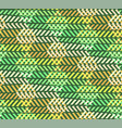 abstract break zigzag green forest pattern vector image vector image