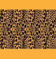 african wax print fabric animal fiber ankara style vector image