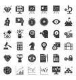 business and investment pictogram icon vector image vector image