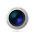 camera lens icon vector image vector image