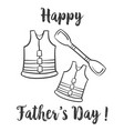 design hand draw father day celebration vector image vector image