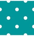 seamless Polka dot background vector image vector image