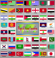 Asia Atlas East State Geography Symbol World Flag