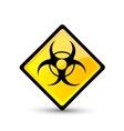 Bio hazard symbol vector image