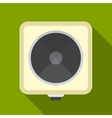 Electric cooker flat icon vector image vector image