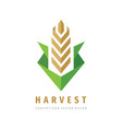 harvest - concept business logo template vector image