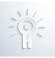 modern concept idea icon vector image