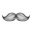 Moustache Icon vector image vector image