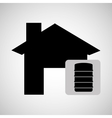 repair concept house icon graphic vector image vector image