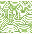 wave seamless pattern wavy striped pattern vector image vector image