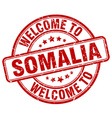 welcome to Somalia vector image vector image