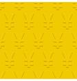 Yen symbol pattern vector image vector image