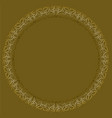 filigree lace patterns luxurious art deco design vector image