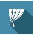 iron curtain icon vector image