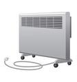 oil heater vector image