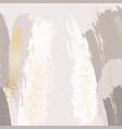 sparkled glittern golden splashes on pastel grey vector image vector image