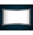 tv screen icon vector image vector image