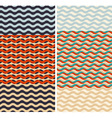 Waves - geometric seamless patterns vector image