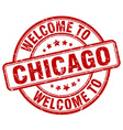 welcome to Chicago vector image vector image
