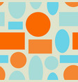 seamless abstract geometric colorful vector image