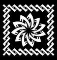 ancient celtic scandinavian design celtic knot vector image vector image