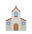 catholic church symbol vector image