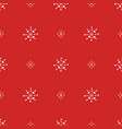 christmas seamless pattern for background vector image
