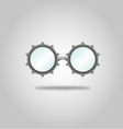 glasses specs goggles shades weird steampunk vector image vector image