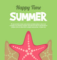 holiday summer party poster background vector image