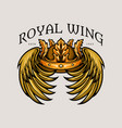 Leaf crown royal wing