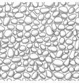 pebble abstract background seamless pattern for vector image vector image