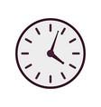 Purple clock icon