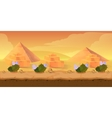 Pyramid Game Background vector image vector image