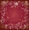 red holiday background vector image