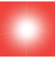 red wave background vector image vector image