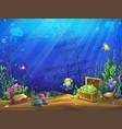 underwater ocean vector image vector image